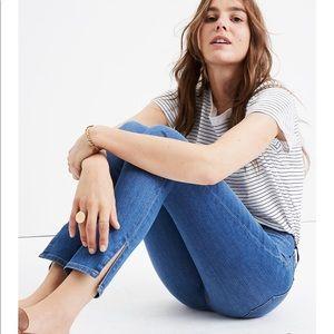 Madewell High-Rise Skinny Jeans in Bonita Wash 31
